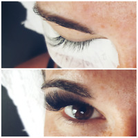 $90 FULL SET VOLUME GLAM LASHES 3D, 4D OR 5D!!