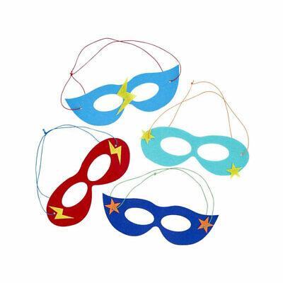 RICE Filz-Maske Superheld sortiert Verkleidung Kostüm Kindergeburtstag (Rice Kinder Kostüm)