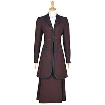 NEW Doctor Who 8th Season Female Missy Mistress Cosplay Costume AA.0231