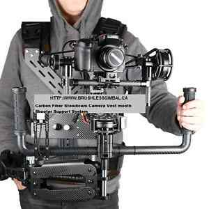 BGC film head Brushless gimbal and stedy cam vest system