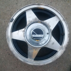 Optima Aluminum Rim - 1993 Honda Civic 4 bolt