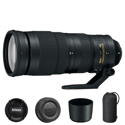Nikon AF-S NIKKOR 200-500mm f/5.6E ED VR Lens for DSLR Bodies