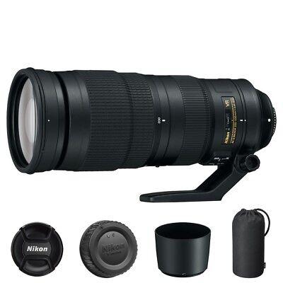 Nikon AF-S NIKKOR 200-500mm f/5.6E ED VR Lens for DSLR Camera Bodies