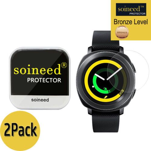 [2-PACK] SOINEED Tempered Glass Screen Protector For Samsung Gear Sport R600
