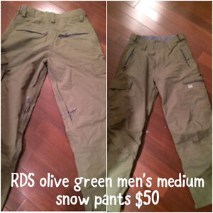 RDS men's snow pants