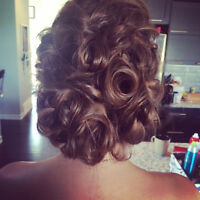 $55 Expert Updo's and Make-Up for the Holidays