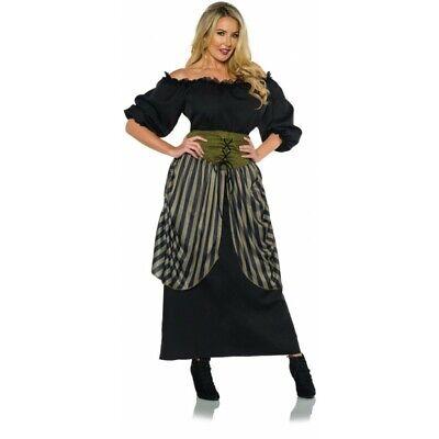 Underwraps Renaissance Maiden Bauer Kleid Adult Damen Halloween - Renaissance Bauer Kleider