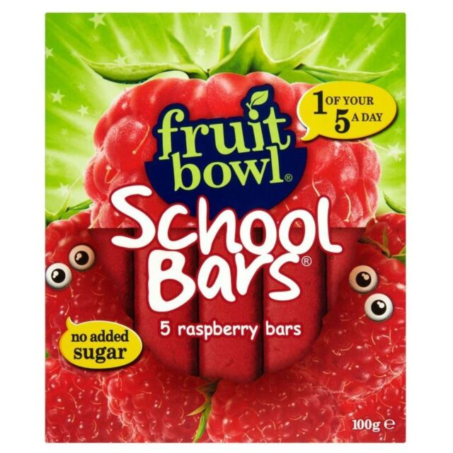 Fruit Bowl School Bars Raspberry (5x20g)