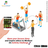 """Activity Challenge"": Health and Fitness App"