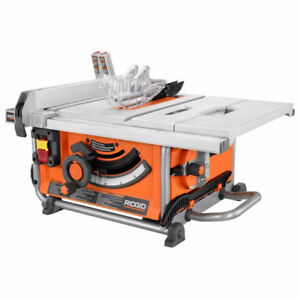 Ridgid Portable Table Saw - Used for Less Then 5 hrs