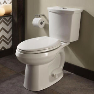 NEW AMERICAN STANDARD CADET 3 DUAL FLUSH TOILETS