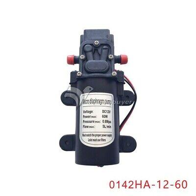 Micro Diaphragm Pump Dc12v 60w 5lmin Electric Water Pump 0142ha-12-60 New