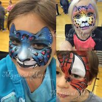 Professional, Insured Amazing Face Painters for Your Event