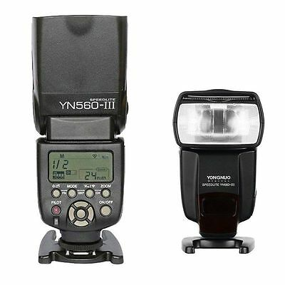 Yongnuo YN-560 III Wireless Trigger Speedlite Flash for Canon Nikon Camera US