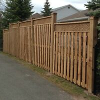 Fences (JT's Kustom Carpentry Inc.)