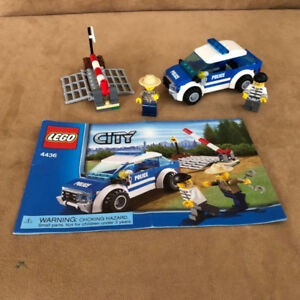 Great Lego City Police Vehicle Package