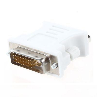 DVI Adattatore maschio (DVI-D 24 1) alla femmina VGA (a 15 pin) X6P4