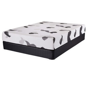 Matelas grand lit de mousse mémoire Mirabel, queen
