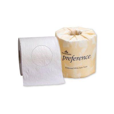 Wht Bath Tissue - Georgia Pacific Preference Universal Bath Tissue 2-Ply Wht 550 Shts/rl 80 rls/cs