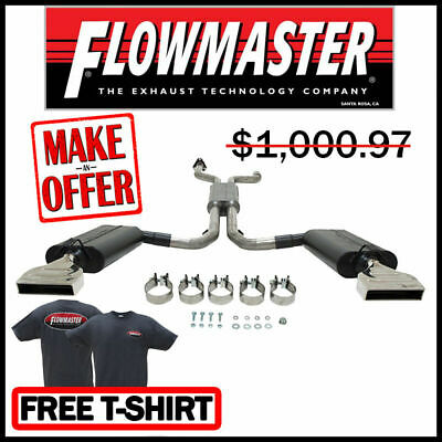 "Flowmaster 817670 1992-1996 Chevy Corvette 5.7L Force II 2.5"" Cat-Back Exhaust"