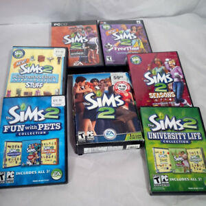 The Sims 2 - plus expansions