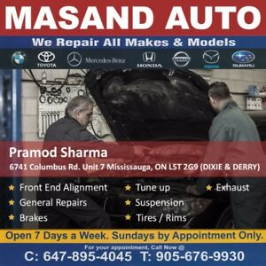 CAR  REPAIR SERVICES   MISSISSAUGA   BRAMPTON