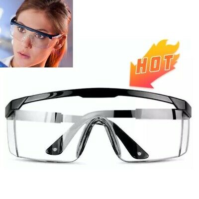 Adjustable Goggles Eye Protection Anti-Droplets Goggles Windproof Lab Glasses Cl Business & Industrial