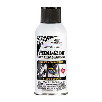 Finish Line Pedal   Cleat Dry Film Lube Lubricant New 5 Fl  Oz