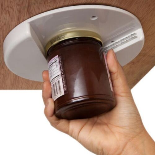 2/1X Jar Opener for Under Cabinet Counter Bottle Arthritis S