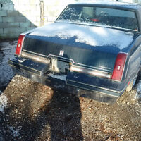 1981-1988 CUTLASS CHROME REAR BUMPER / FRONT BUMPER ALSO