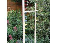 Wooden Limbo Garden Game ....... £14.00