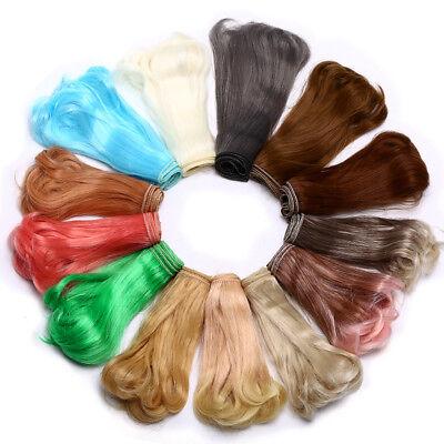 Doll Hair Wigs Straight Hair Bulk Wigs Craft Hair For  Girl Doll Wig Hair - Bulk Wigs