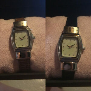 Ladies Watch with Reversible Band