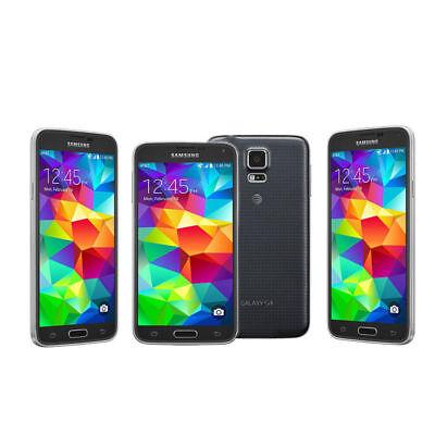 BRAND NEW SAMSUNG GALAXY S5 G900F -UNLOCK 4G LTE BLACK SMARTPHONE