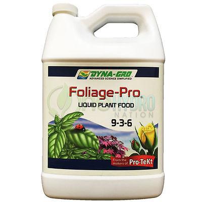 Dyna Gro Foliage Pro 9-3-6 Gallon 128 oz. Fertilizer Plant Food Nutrients