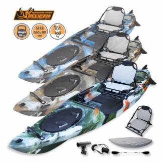 ON SALE! Everest Blackhawk 3.6m Pro Fishing Kayak with Rudder
