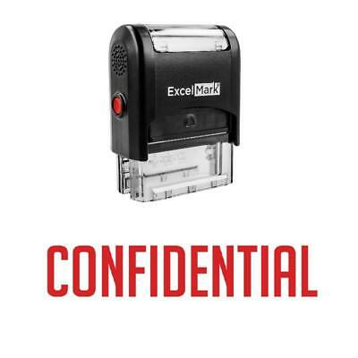 Confidential Stamp - Self-inking Red