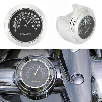 """7/8""""-1"""" Handlebar Thermometer for Harley V-Rod Night Street Rod Special for sale  Shipping to Canada"""
