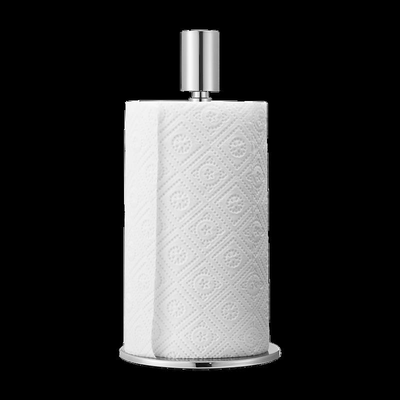 Details about Georg Jensen Stainless Steel MANHATTAN Kitchen Paper Towel  Roll Holder New