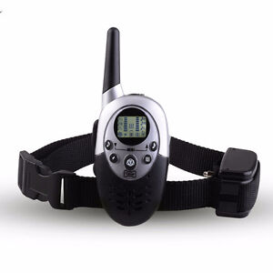Remote Rechargeable Waterproof Shock Dog Training Collar