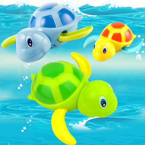 New Swimming Animal Turtle Pool Toys for Baby Children Kids Toddler Bath Time NE