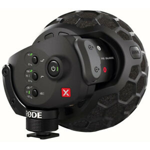 Brand New Rode Microphones Stereo VideoMic X
