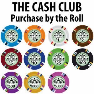 CASH CLUB POKER CHIP SET - CHIPS 1000 W/ CARRIER London Ontario image 2