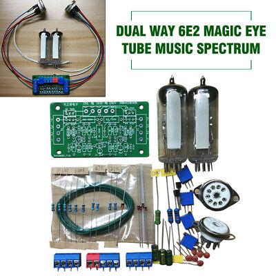 Dual Way 6e2 Magic Eye Music Spectrum Vacuum Tube Level Indicator Diy Kit Set
