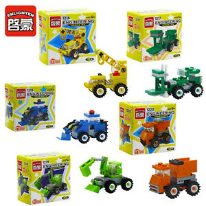Lego-compatible: small construction vehicles: $2 EACH - NEW!!!