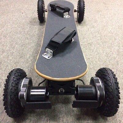 Electric Offroad Skateboard Balance Board Fast Samsung Battery 4wheel 2000W*2!