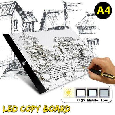A4 USB LED Light Box Pad Board Art Craft Copy Drawing Tracing Tattoo Display oE