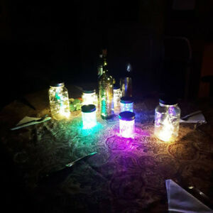 Perfect for XMAS,illuminated mason jars (2 for 10$)