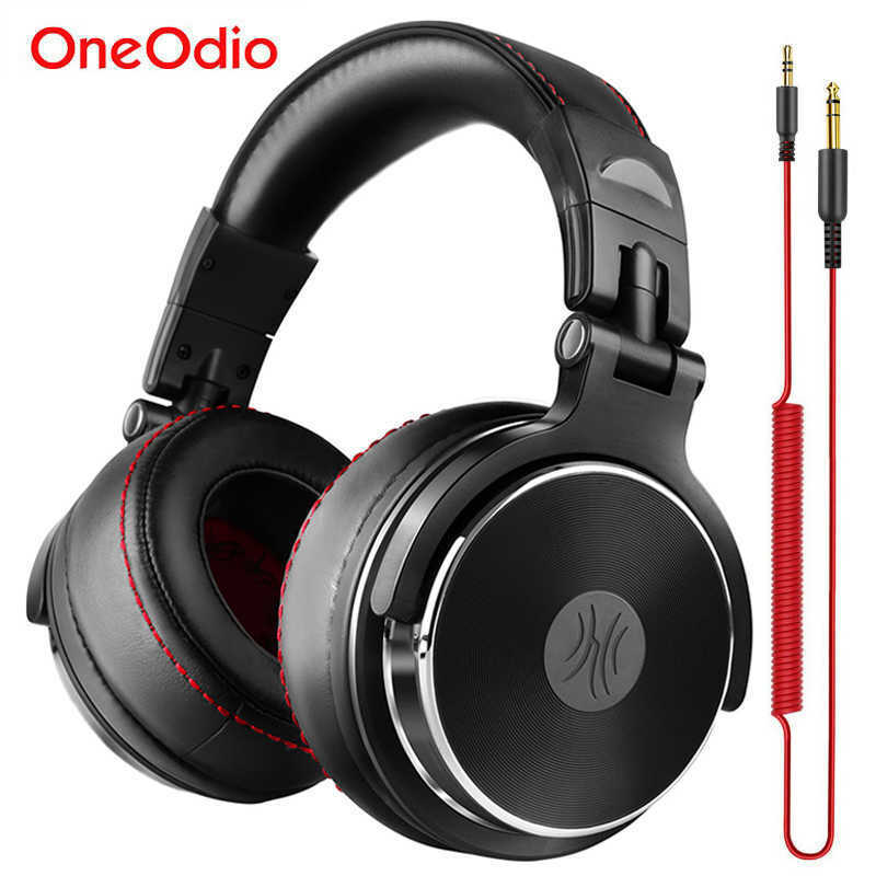 Oneodio Studio Pro 10 Professional DJ Headphones Dynamic Stereo Wired UK New