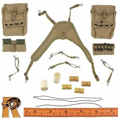 AL WWII US Medic - Harness Set w/ Medical Supplies - 1/6 Scale Alert Line Figure ()